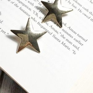 NEW 3 FOR 35 LARGE GOLD STUD EARRINGS